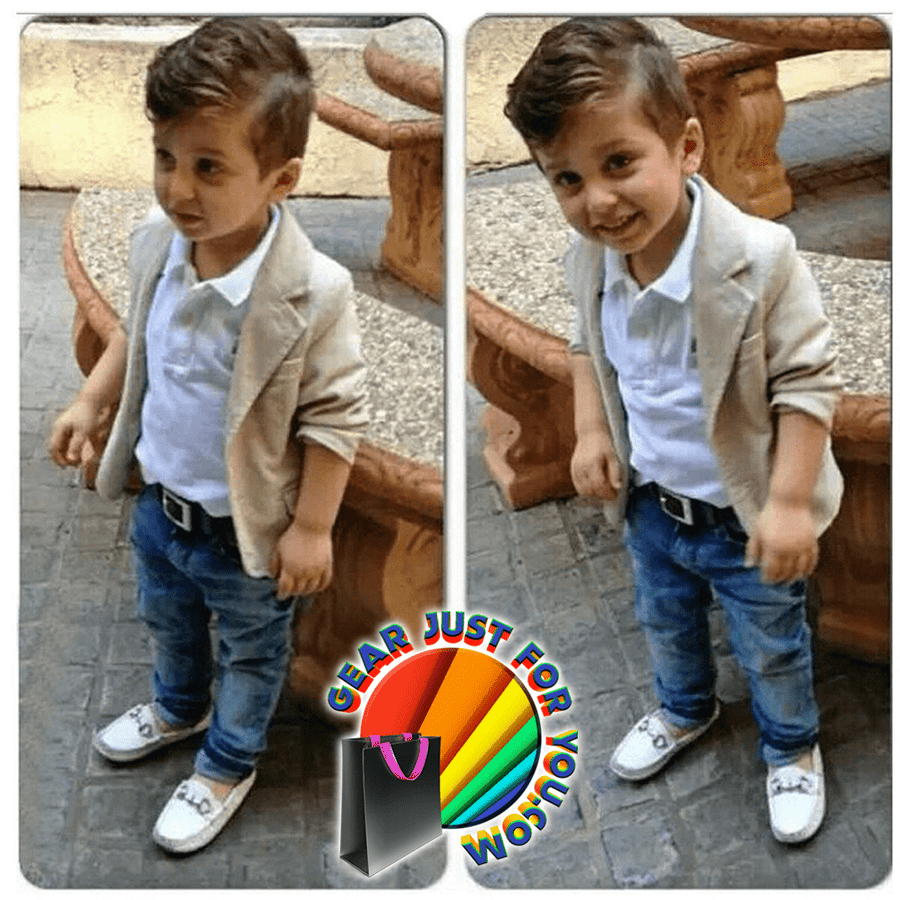 be089ad75e7bd Stylish Baby Boys Coat Shirt Denim Pants Gentleman Set - Gear Just For You .com