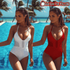 Sexy One Piece Monokini Push Up padded Bikini Beach Wear - Gear Just For You.com