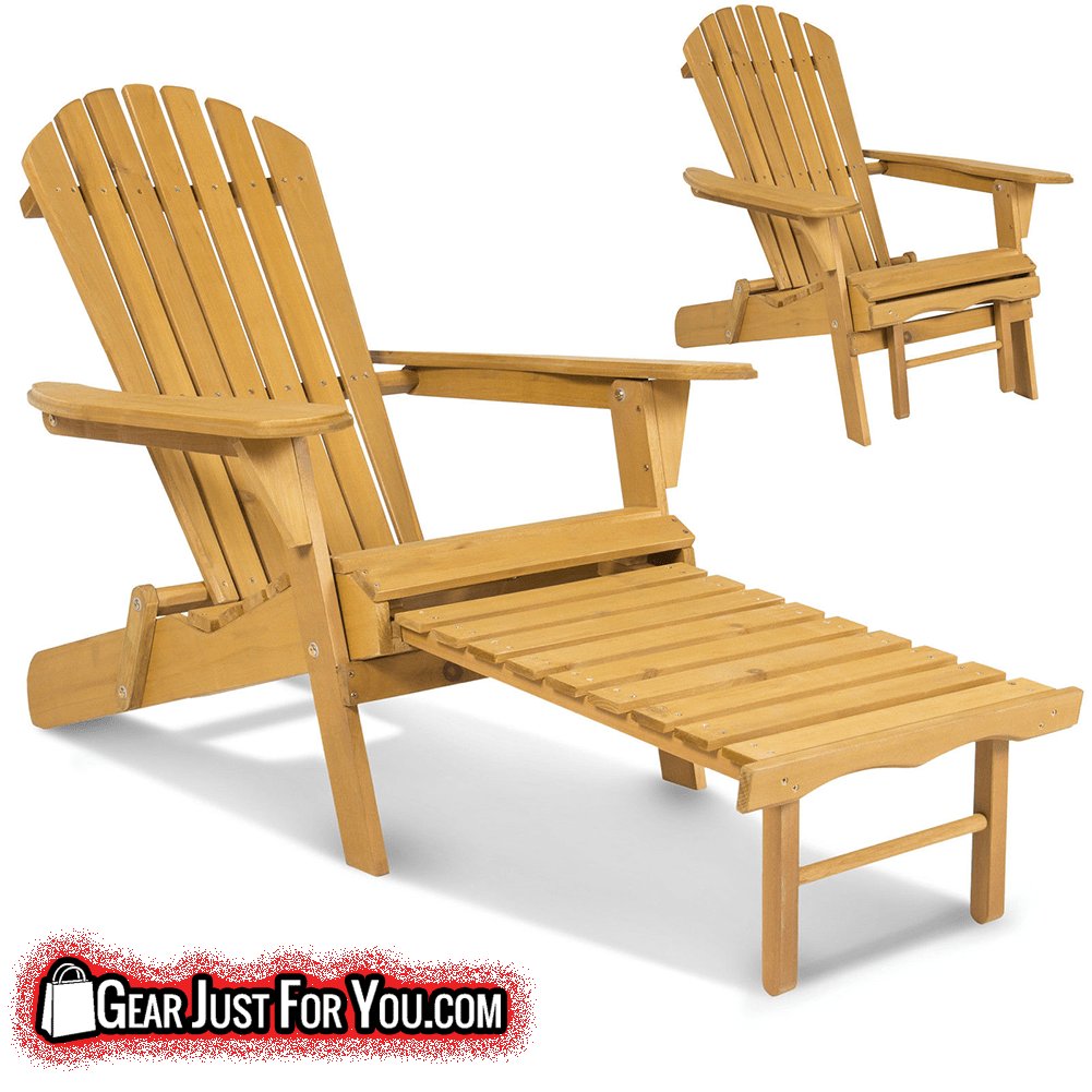 most comfortable outdoor wooden foldable chair gear just for you