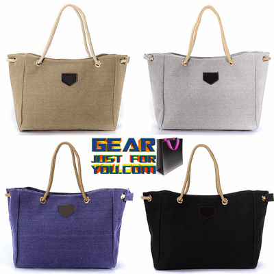 Casual Fashion Canvas Satchel Tote Shoulder Bag