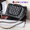 Most Attractive Women's Quilted Chain Leather Shoulder Handbag