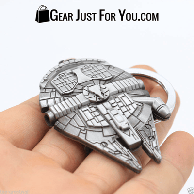 New Star Wars Millennium Falcon Metal Keyring Keychain - Gear Just For You.com