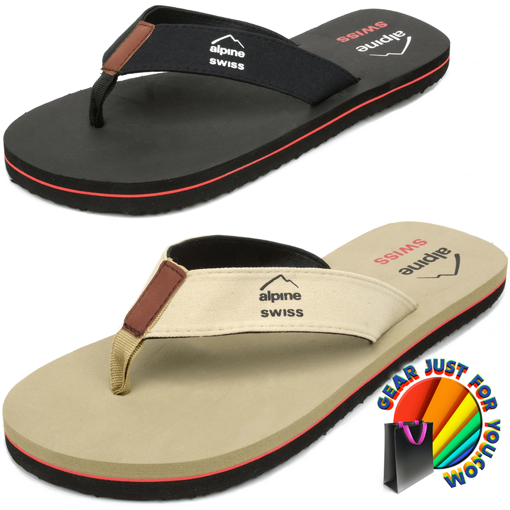 47596fa3cd3a16 Comfortable Lightweight EVA Sole Men s Flip Flop Beach Thong Sandals ...