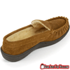 Image of Ultra Comfortable Men's Genuine Suede Leather Semi Moccasin Slippers - Gear Just For You.com