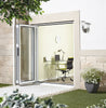 Lpd External 1.8M Aluvu (6Ft) Aluminium Bi-Fold Door Set In A White Finish (Left Hand Opening) - External Doors