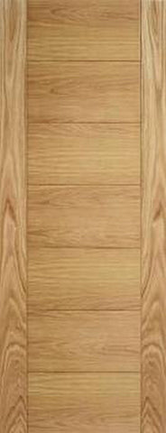 Lpd Internal Oak Carini Unfinished Fire Door - Internal Doors