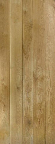 Lpd Internal Nostalgia Prime Solid Oak Ledged Door - Internal Doors