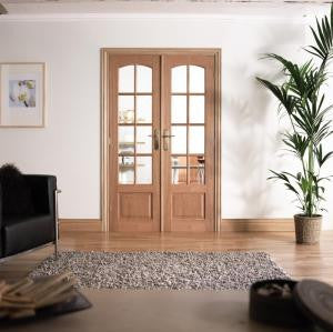 Lpd Internal Oak Room Divider - Internal Doors