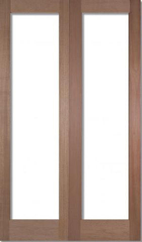 Lpd Internal Pattern 20 Luan Un-Glazed Door Pair - Internal Doors
