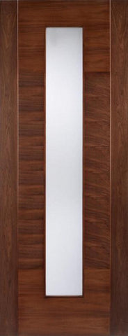 Lpd Internal Walnut Aragon Glazed Door - Internal Doors