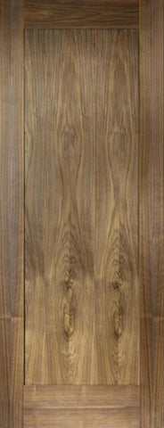 Lpd Internal Walnut Porto 1 Panel Pre-Finished Door - Internal Doors