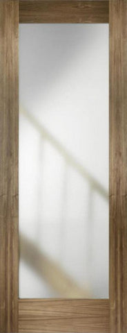 Lpd Internal Walnut Porto Glazed Pre-Finished Door - Internal Doors