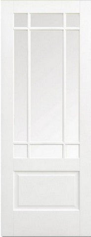 Lpd Internal Downham Clear Bevelled Glass Prime Plus Door - Internal Doors