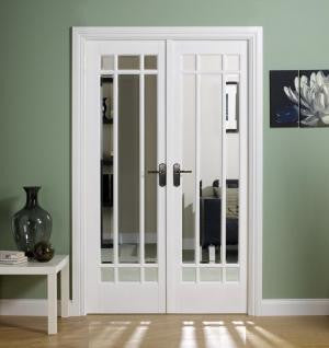 Lpd Internal White Manhattan Room Divider Set - Internal Doors