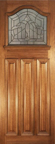 Lpd External Mortice & Tenon Estate Crown With I.g Lead Glazed Hardwood Door - External Doors