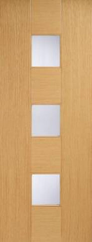 Lpd Internal Oak Catalonia Glazed Door - Internal Doors