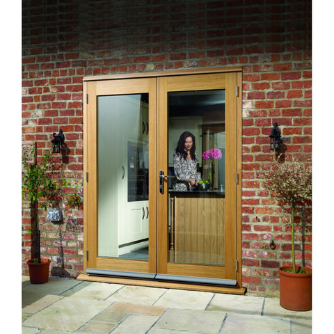 Xl Joinery External Pre-Finished Oak La Porte French Door Set - External Doors