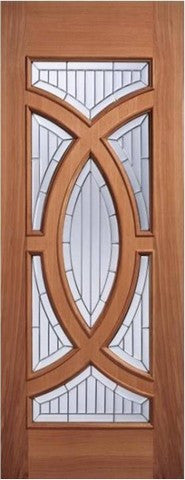 Lpd External Majestic Hardwood Ig Zinc Glazed Entrance Door - External Doors