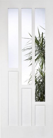 Lpd Internal Coventry 3 Light Glazed White Prime Plus Door - Internal Doors