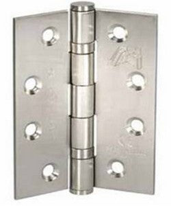 Atlantic Handles Fire Door Ball Bearing Pair of Hinges in a Stainless Steel Finish - MODA Doors