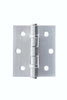Atlantic Handles Wave Satin Chrome Bathroom Latch Pack - MODA Doors