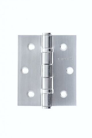 "Atlantic Handles 3"" x 2.5"" x 2.5mm Ball Bearing Pair of Hinges in a Satin Chrome Finish - MODA Doors"