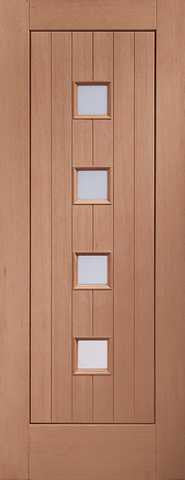 Xl Joinery External Hardwood Double Glazed Siena Door - External Doors