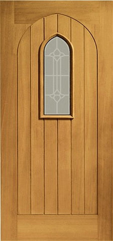 Xl Joinery Pre-Finished External Oak Double Glazed Westminster Door Set - External Doors