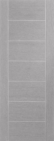 Xl Joinery Internal Pre-Finished Light Grey Palermo Door - Internal Doors