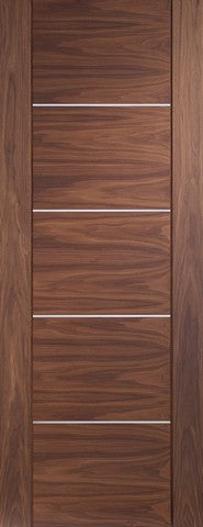 Xl Joinery Internal Walnut Pre-Finished Portici Fire Door - Internal Doors