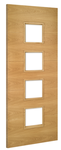 Deanta Doors Internal Augusta Unglazed Pre-Finished Door - MODA Doors
