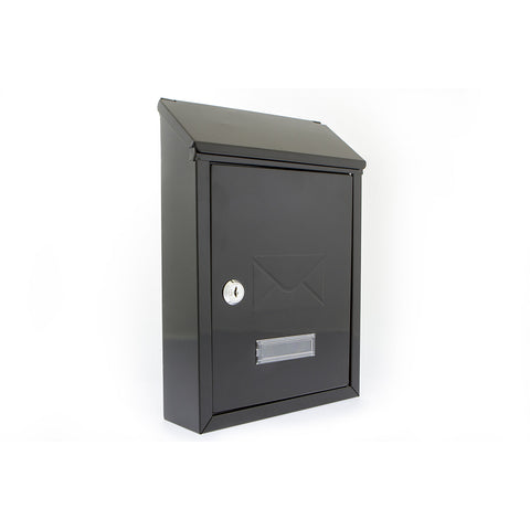 G2 By Sterling Avon Post Box In Black - Post Boxes