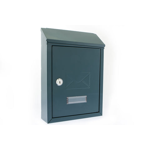 G2 By Sterling Avon Post Box In Green - Post Boxes