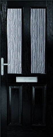 XL Joinery External Malton Composite Doorset with Obscure Glass