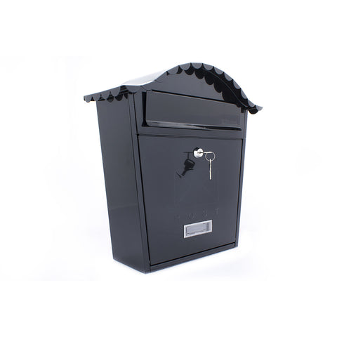 Sterling Post Box Mb01 In Black - Post Boxes