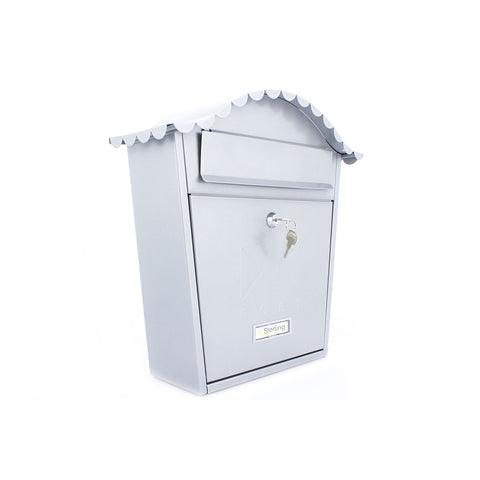 Sterling Post Box MB01 in Silver
