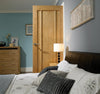 Lpd Internal Oak Lincoln 3 Panel Fire Door - Internal Doors