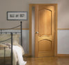 Lpd Internal Pre-Finished Oak Louis Raised Mouldings Fire Door - Internal Doors