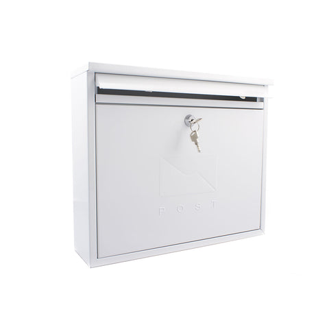 Sterling Post Box MB02 in White