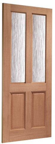 Xl Joinery Dowelled Malton Single Glazed Obscure Glass Door - External Doors