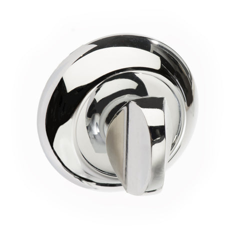 Round Rose WC Turn and Release in a Polished Chrome Finish - MODA Doors  - 1