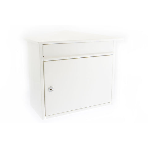 G2 By Sterling Mersey Post Box In White - Post Boxes
