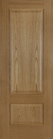 Mendes Internal Pre-Finished Oak Heath Door - Internal Doors