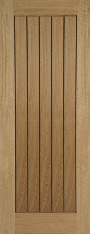 Mendes Internal Oak Mexicano Metric Door - Internal Doors