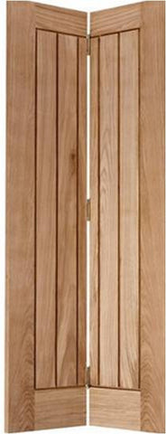 Lpd Internal Mexicano Bi-Fold Oak Door - Internal Doors