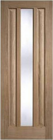 Lpd Internal Kilburn Glazed Oak Door - Internal Doors