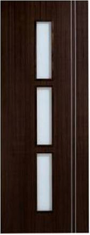 Lpd Internal Sierra Walnut Glazed Door - Internal Doors