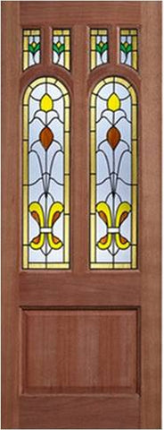 Lpd External Mortice & Tenon Camden Tulip 6 Light Glazed Hardwood Door - External Doors