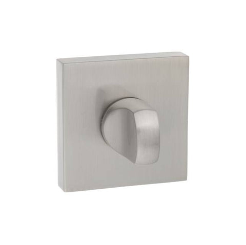 Atlantic Handles Senza Pari WC Turn and Release to Suit Flush Rose in a Satin Nickel Finish - MODA Doors