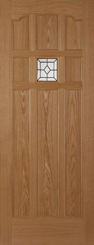 Mendes External Oak Sandown Lead Door - External Doors